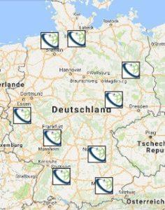 standorte deutschland wo sie uns finden sats. Black Bedroom Furniture Sets. Home Design Ideas