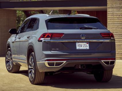 VW Atlas Cross Sport - Heck