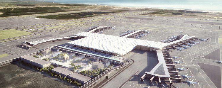 istanbul grand airport iga airport der superlative sats. Black Bedroom Furniture Sets. Home Design Ideas