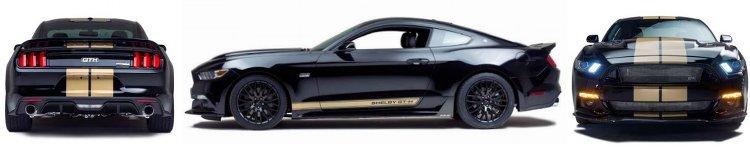 Shelby Mustang GTH Ansichten