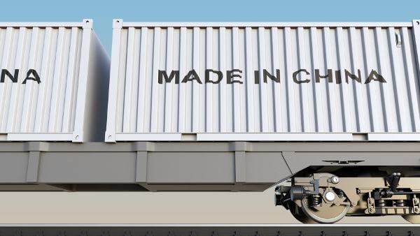 Warenimport aus China